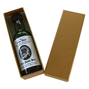 Logan - The Scottish Clan - Single Malt Whisky Miniature (5cl) in Gift Box by Just Miniatures
