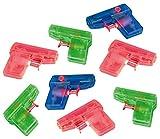 Amscan INT390185 Wasserpistole Mitgebsel Party-Fun, 8 Stück