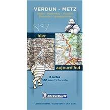 Pack 2 cartes hier/aujourd'hui Verdun - Metz Michelin (Anglais) de Collectif MICHELIN ( 16 novembre 2013 )
