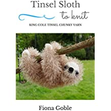 Tinsel Sloth To Knit: King Cole Tinsel Chunky
