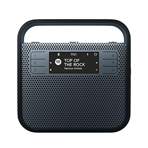 INVOXIA 90035altoparlante per smartphone Blu Petrolio