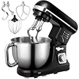 Aicok Stand Mixer, Food Mixer, Kitchen Electric Mixer 1000W with Double Dough Hook