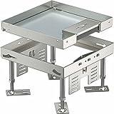 obo-bettermann Automatischer canaliz. Boden Set Deckel Rahmen rksn24vs20Ausgang 200x 200