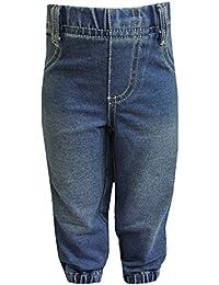 FIXONI - Bébé pantalons jeans garçons, bleu
