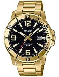 Casio MTP-VD01G-1B Reloj de Pulsera para Hombre