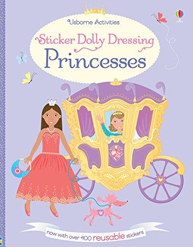Sticker Dolly Dressing Princesses (Usborne Sticker Dolly Bücher)