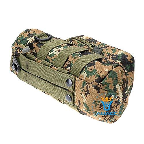 Multifunktions Survival Gear Tactical Beutel MOLLE Beutel Reißverschluss Wasser Flasche Tasche, Outdoor Camping Tragbare Tasche Handtaschen Werkzeug Tasche Reise Tasche DC