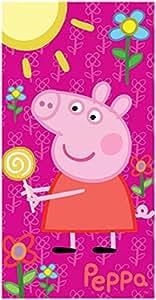 PEPPA PIG - Serviette de bain sucette Peppa Pig