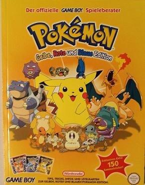 Pokemon - Lösungsbuch (rot, blau, gelb) (Gelb Pokemon)