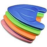 Lamptti Schwimmbrett für Erwachsene und Kinder, leichtes Eva-Schwimmbrett mit rutschfestem Griff für Schwimmunterricht, Schwimmunterricht (Farbe kann variieren)