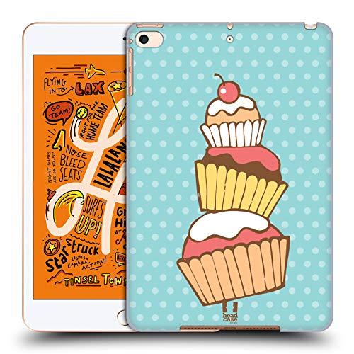 Head Case Designs Stack Cupcakes Harte Rueckseiten Huelle kompatibel mit iPad Mini (2019) -