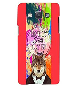 PrintDhaba Quote D-4220 Back Case Cover for SAMSUNG GALAXY A5 (Multi-Coloured)