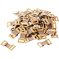 Bandage Clips Stretch Metal (Brown)