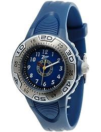 Zoop Analog Navy Blue Dial Children's Watch-NKC1002PP02