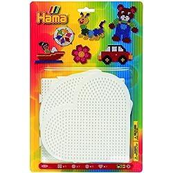DAN Import Hama 4552 - 4 tableros de piezas grandes