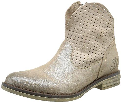IKKSCindy - Stivali alla caviglia Santiags Bambina , Beige (Beige (43 Ctv Beige Argt/Perfo Dpf/Ixos)), 40