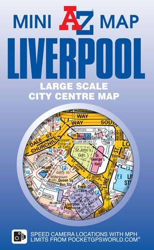 Liverpool Mini Map por Geographers' A-Z Map Co Ltd