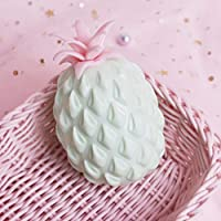 HuXwei 2pcs New Pineapple Anti Stress Grape Ball Funny Gadget Vent Decompression Toys For Children Stress Autism Hand Wrist Squeeze Toys-Light Green