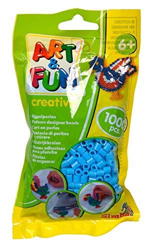 Simba 106374420Art and Fun 1000Cuentas en Bolsa Azul