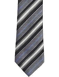 Alvaro Castagnino Grey::Black Colored Necktie for Men