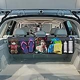 YOOFAN Organizzatore per Auto, Bagagliaio Auto Organizer, Organizzatore Di Immagazzinaggio Del Sedile Posteriore, Panno In Oxford Impermeabile Con Multi Tasca A Rete, Cinghie Regolabili