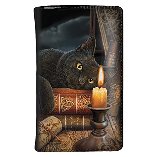 Dark Dreams Gothic Mittelalter Fantasy Hexe Katze Cat Geldbörse Portemonnaie Witching Hour Lisa (Cat Kostüm Hexe)