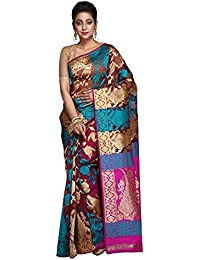 Hawai Trendy and Traditional Floral Designed Georgette Saree