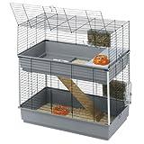 Ferplast Gabbia a Due Piani per Conigli