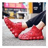 YAYADI Männer Schuhe Mode Sneakers Frühling Herbst Männer Freizeitschuhe Weiche Atmungsaktive Schnürschuhe Plus Joggen Fitness Schuhe Leicht, Wie Gezeigt, 45