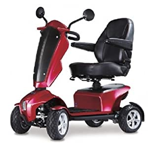 TGA Mobility Vita Lite Class 3 Mobility Scooter - Red