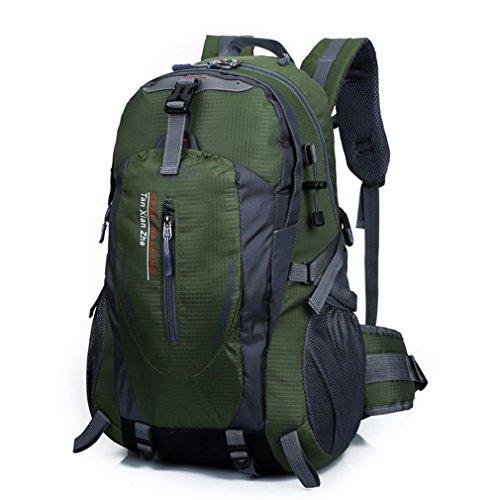 emansmoer Unisex Sac à dos Camping Randonnée Trekking d'escalade Imperméable Professionnel Outdoor Sport Sac