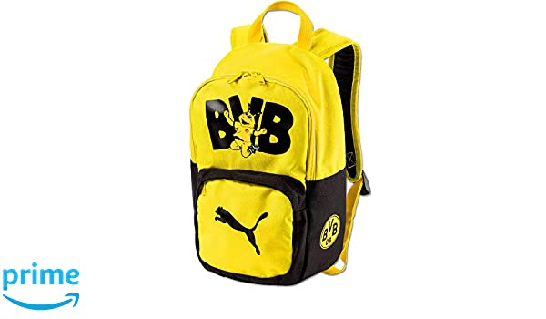 70dd711551 Puma BVB Kids Backpack, Zaino Bambini, Black-Cyber Yellow, UA: Amazon.it:  Sport e tempo libero