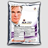 ALA-250 (125 Kapseln á 250mg), Reine Alpha Liponsäure, Hochdosiert - Antioxidantien - Anti-Aging, Pharmaqualität aus EU-Produktion - Preishammer