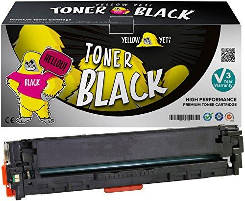 Yellow Yeti 131X CF210X 731 Negro 2400 páginas Tóner Compatible para HP Laserjet Pro 200 Color MFP M276nw M276n M251nw M251n Canon i-SENSYS LBP7100Cn LBP7110Cw MF628Cw MF8280Cw [3 años de garantía]