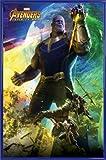 1art1® Los Vengadores Póster con Marco (Plástico) - Infinity War, Thanos (91 x 61cm)