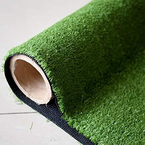 High-density Schwarz Tinte (YUER 10mm Pile Höhe Kunstrasen, 2m breit wählen Sie Ihre eigene Länge in 0.5m Längen, Günstige Natural & Realistisch aussehende Astro Garten Rasen, High Density Fake Turf (Color : B, Size : 2x5m))