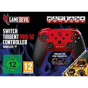 GameDevil Switch Trident PRO S2 Wireless Controller + TinyTroopers XL [ ]