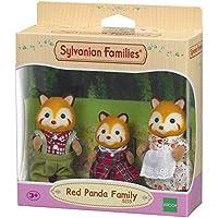 Sylvanian Families-5054131052150 Familia Pandas Rojos (Epoch para Imaginar 5215)