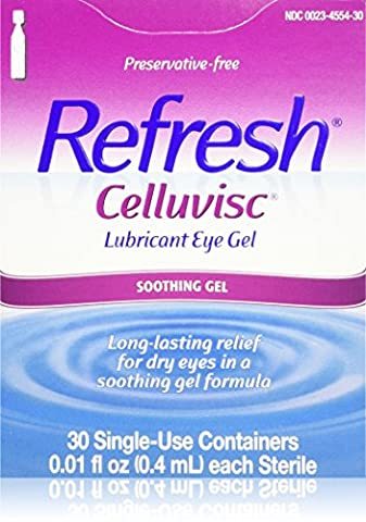 Refresh Celluvisc Lubricant Eye Gel Single-use Containers 30 Ea (Single Use Container)