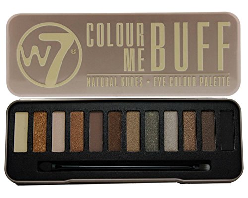W7 Ultimate Eye Shadow Palette Collection,Colour Me Buff, In The Nude, In The Night & In the Buff Lightly Toasted