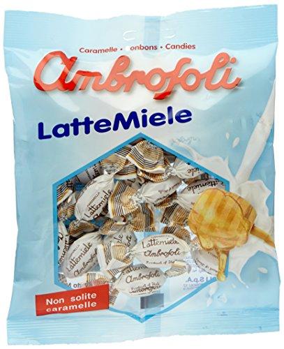 Ambrosoli Caramelle  Lattemiele - 5 pezzi da 135 g [675 g]