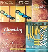 NCERT textbooks class 12th physics part 1&2 chemistry part 1&2 and biology combo 2019 edition (pack of