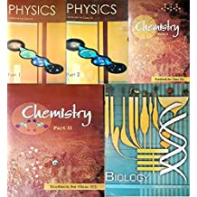 NCERT textbooks class 12th physics part 1&2 chemistry part 1&2 and biology combo 2019 edition (pack of 5 books)