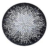 tappeti Rotondo all Seasons Uso Domestico Sedia Girevole per Sedia Computer, Nordic Trend Tappetino Antiscivolo Lavabile (Dimensioni : Diameter 120cm)