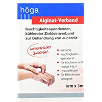 Höga Alginat-Verband, feuchtigkeitsspendender, 8 cm x 3 m preisvergleich bei billige-tabletten.eu
