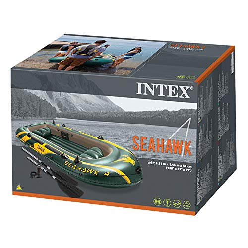 Intex Schlauchboot Seahawk 4 Set im Test - 5