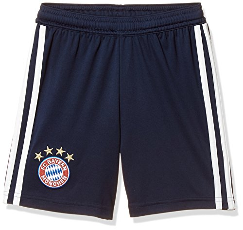 adidas Kinder 18/19 FC Bayern Home Short, Collegiate Navy/White, 164