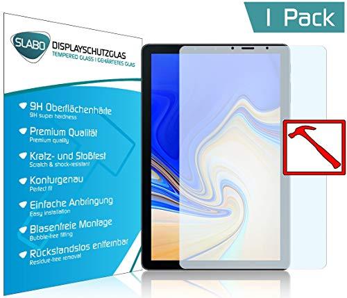 Slabo Premium Panzerglasfolie für Samsung Galaxy Tab S4 T830   T835 Panzerfolie Schutzfolie Echtglas Bildschirmschutzfolie Folie Tempered Glass KLAR - 9H Hartglas