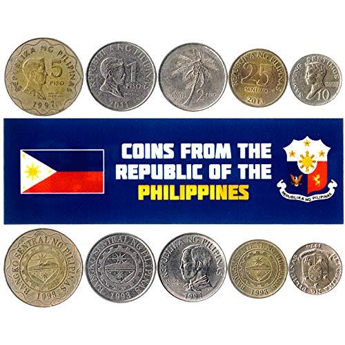 Hobby of Kings - Verschiedene Münzen - alte, sammelbare philippinische Devisen zum Sammeln