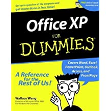 Office XP For Dummies 1st edition by Wang, Wallace (2001) Paperback